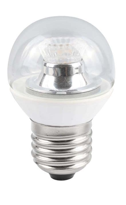 BELL 05148 4W LED 45mm Dimmable Round Ball Clear ES 4000K